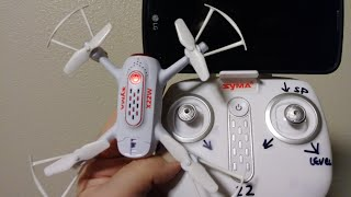 Syma X22W Wi-Fi fpv Drone Courtesy Of True Drone Reviews
