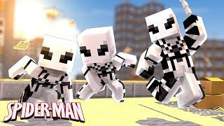 Minecraft: WHO'S YOUR FAMILY? - O BEBÊ DO HOMEM ARANHA BRANCO! (Spider-Man HomeComing)
