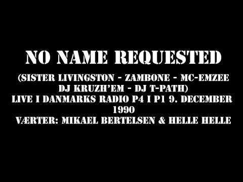 No Name Requested Live i Danmarks Radio P4 i P1 9. december 1990