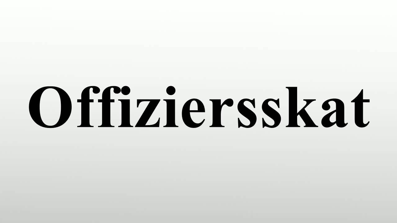 offiziersskat