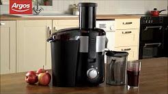 Cookworks KP 60PD Whole Fruit Juicer Review
