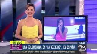 ANDY RIVERA - KMY BONGZ -  La Voz Kids España - Colombia En España