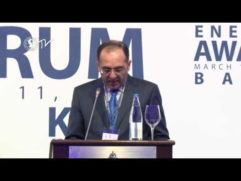 Elman Mehdiyev - Caspian Energy Forum - Baku 2015-az