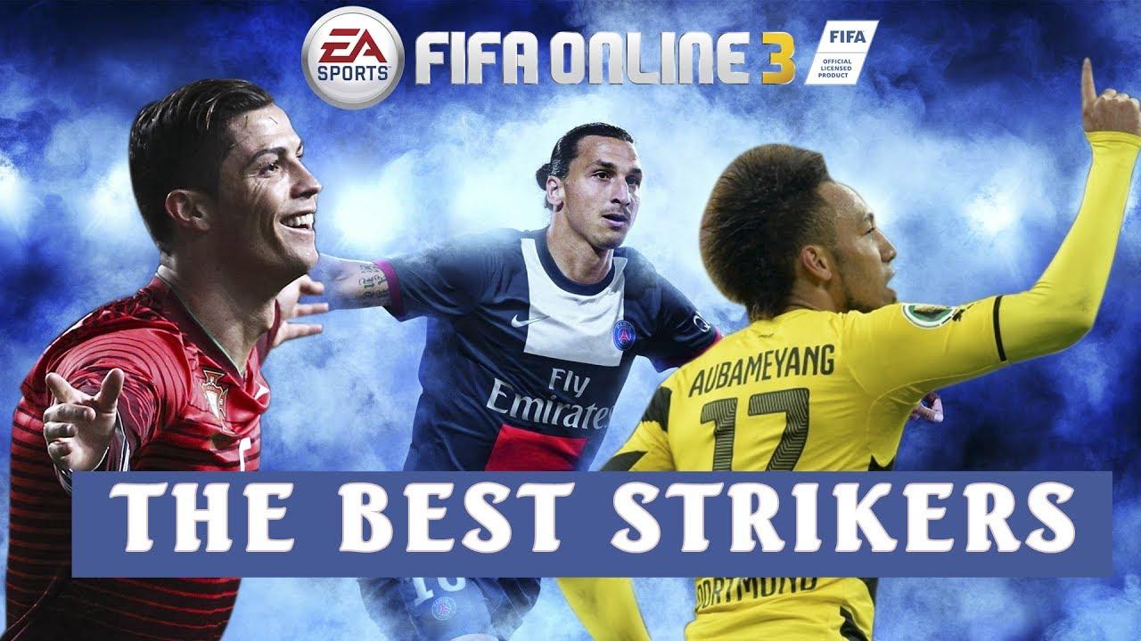 [Fan FiFa Online 3]  BỘ BA TIỀN ĐẠO HAY NHẤT FO3 ( best striker fifa 2017)