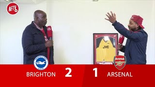 Brighton 2-1 Arsenal | The Season Is In The Bin! (Troopz)