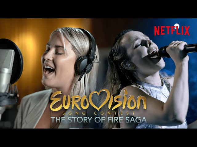 Husavik (My Home Town) | Molly Sandén - The Real Voice Behind the Song | Eurovision - Netflix UK & Ireland
