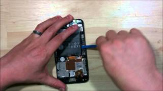 HTC Desire 610 Screen Replacement Glass Only - Disassembly
