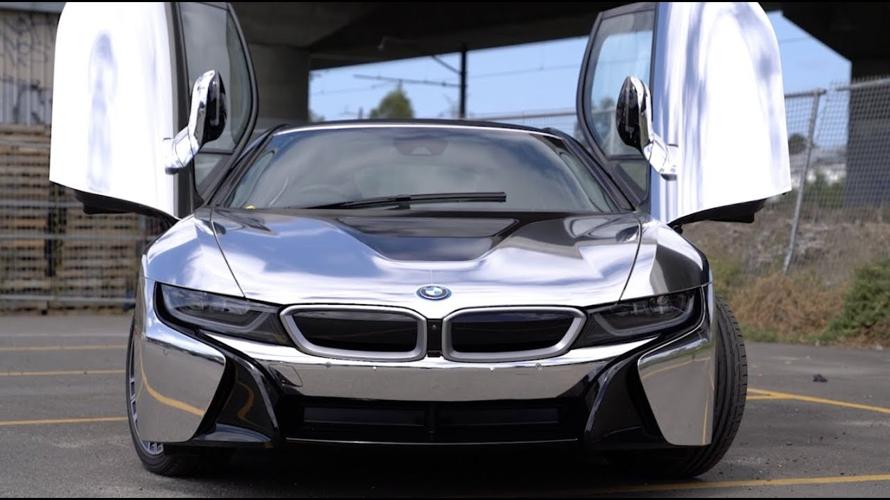 Bmw I8 Chrome Wrap The Friday Wrap Youtube