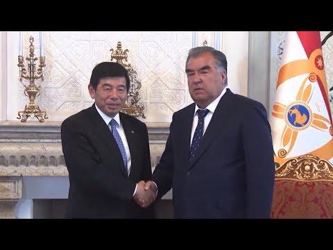 Рахмон и Генсек Всемирной таможенной организации обсудили сотрудничество