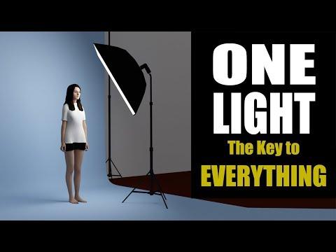 One Light Portrait Photography
