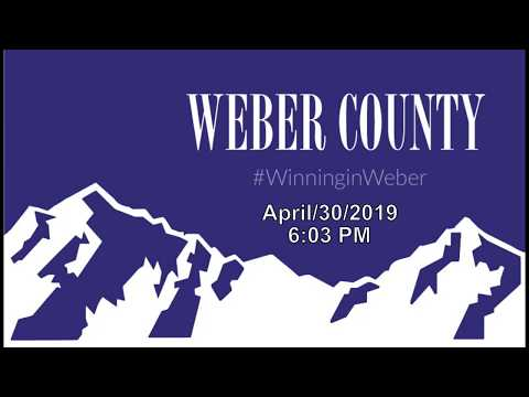 WEBER COUNTY Commission Meeting APR 30 2019