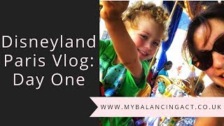 Disneyland Paris Family Vlog: Day One