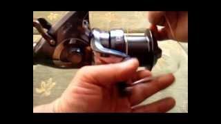 Montaż żyłki na kołowrotku - wędkarstwo