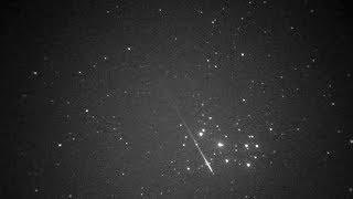 Geminid Meteor Shower 2017 Night vision Filming