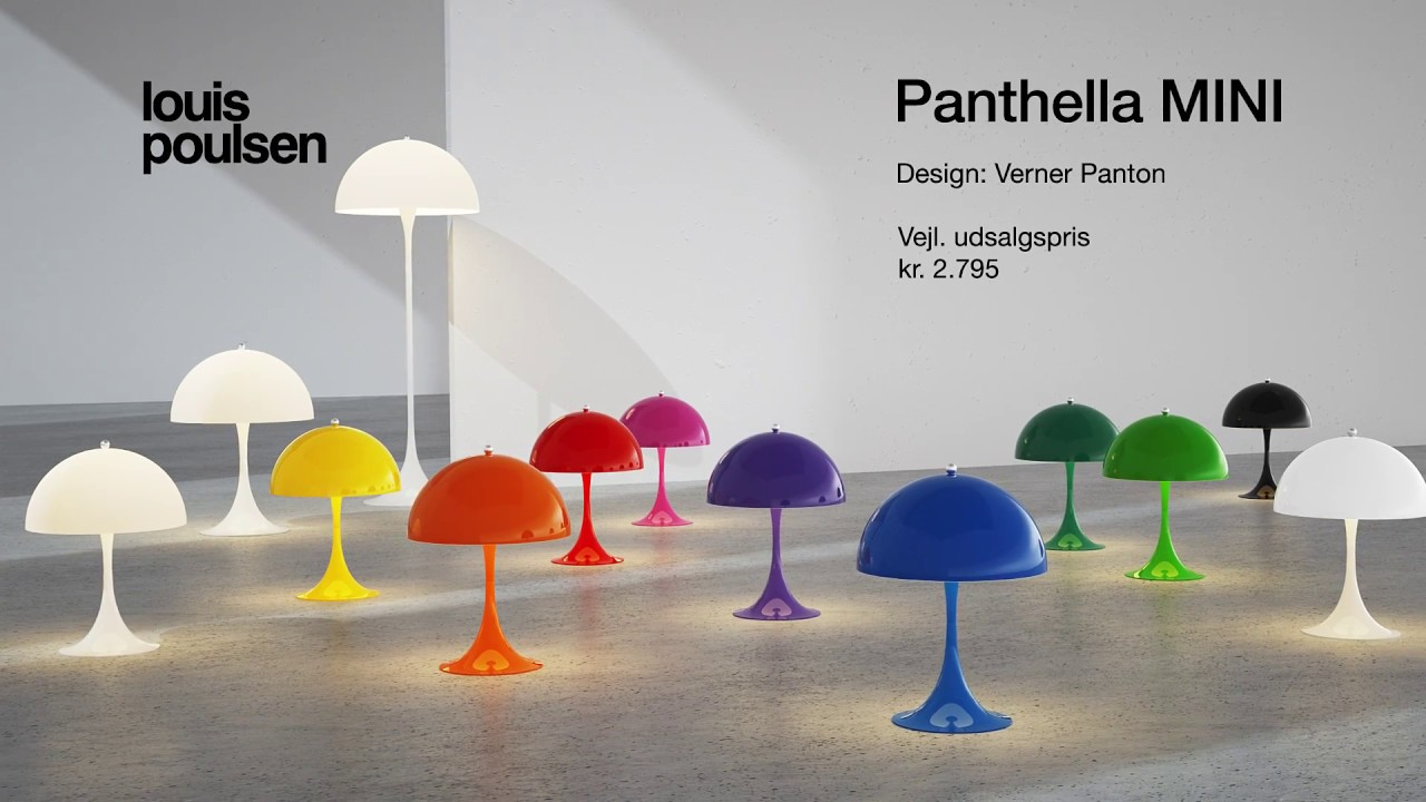 panthella mini louis poulsen dk youtube. Black Bedroom Furniture Sets. Home Design Ideas