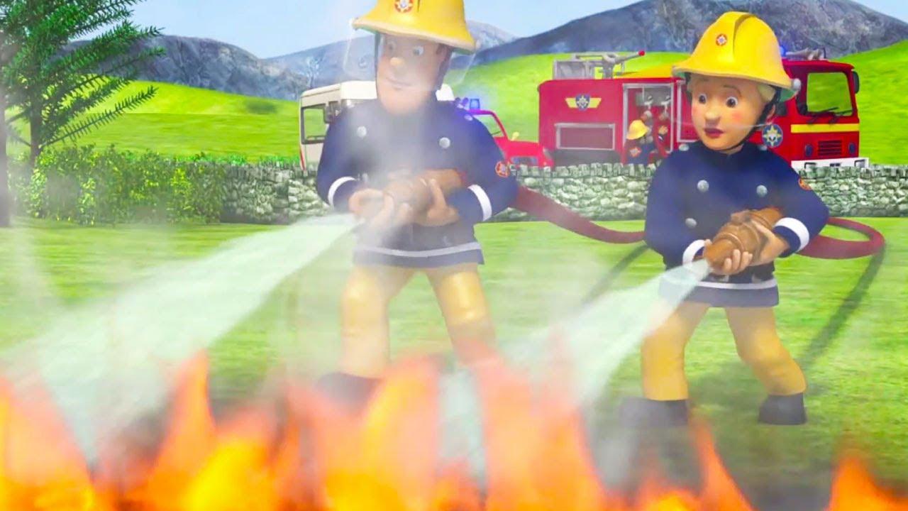 Sam le pompier en francais 🔥 léquipe lutte contre le feu 1 heure