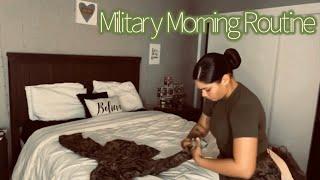 Military Morning Routine  Female Marine