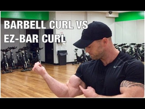 HEAD TO HEAD: Barbell Curl Vs EZ-Bar Curl