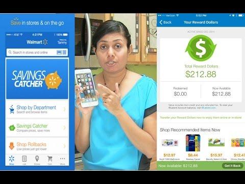 Crazy for Cash Rewards | Walmart Money Savings Catcher App