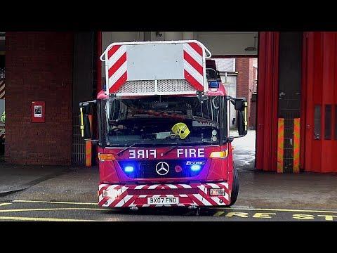 London Fire Brigade TL - Tower Ladder Responding