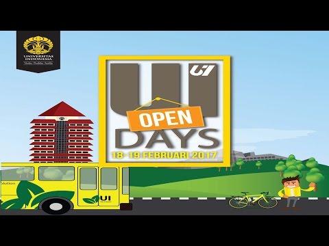 UI Open Days 2017  Hari Pertama Bagian Pertama