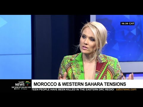 Reaction to Morocco, Western Sahara tensions: Catherine Constantinides