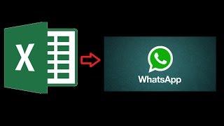 Excel VBA e WhatsApp