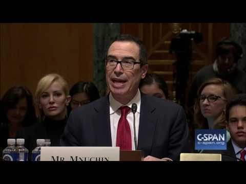 Treasury Secretary Nominee Steve Mnuchin Opening Statement (C-SPAN)