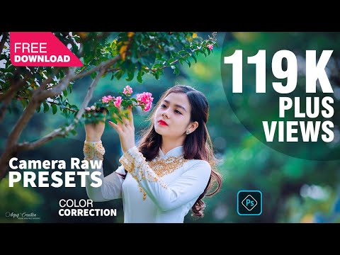 Photoshop Presets Free Download Camera Raw Presets Photoshop Tutorial