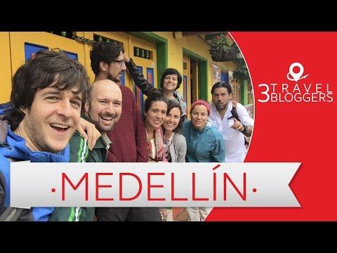 Viaje a Medellin - 3 Travel Bloggers (Daniel Tirado, JL Pastor, Arturo Bullard y más)