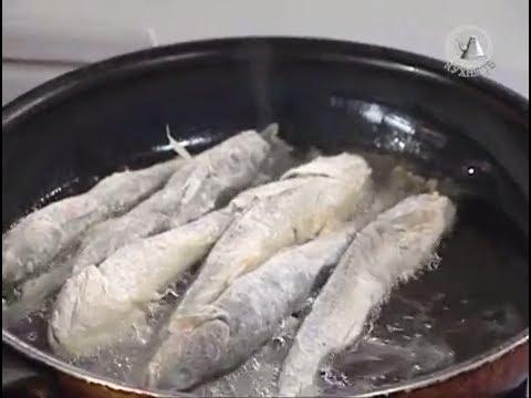Жареная навага (Поморская кухня)