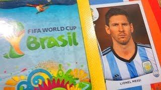 Llenando el Album Oficial del Mundial Fifa Brasil 2014 Panini #7