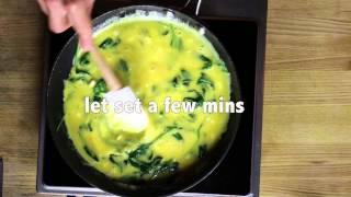How To Make A Quick Paleo Frittata | 20 Second Recipes | Agymlife.com