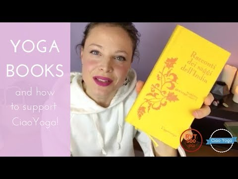 Libri yoga e come supportare CiaoYoga!