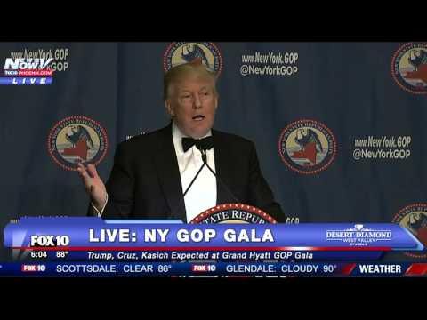 FULL: Donald Trump Grand Hyatt GOP Gala Speech - FNN