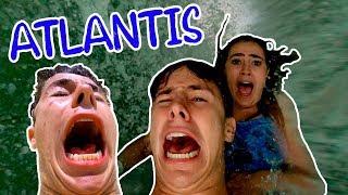 24 HORAS EN ATLANTIS | El parque acuático más extremo del mundo! / Juanpa Zurita