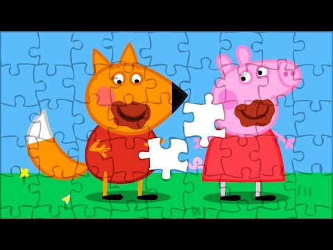 Peppa Pig Puzzle For Kids😍 Chocolate Egg Hunt Jigsaw Puzzle. Puzzle Video For Children. Smart Game