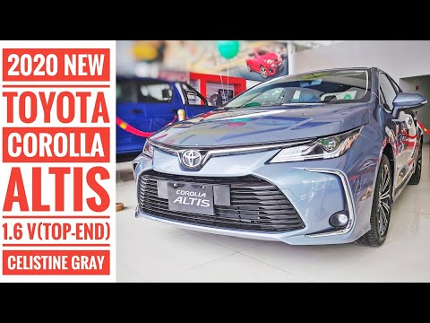 2020 New Toyota COROLLA ALTIS 1.6V - Celistine Gray | Walk Around Video