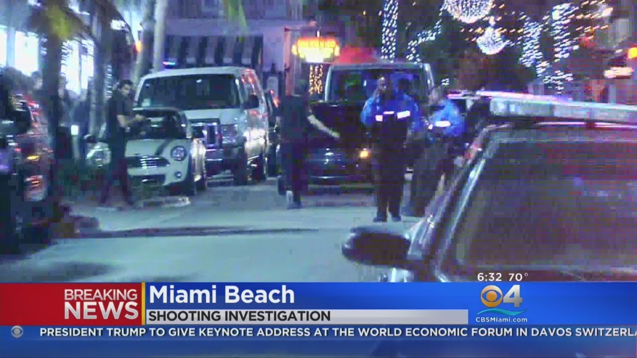 Deadly Shooting On Miami Beach