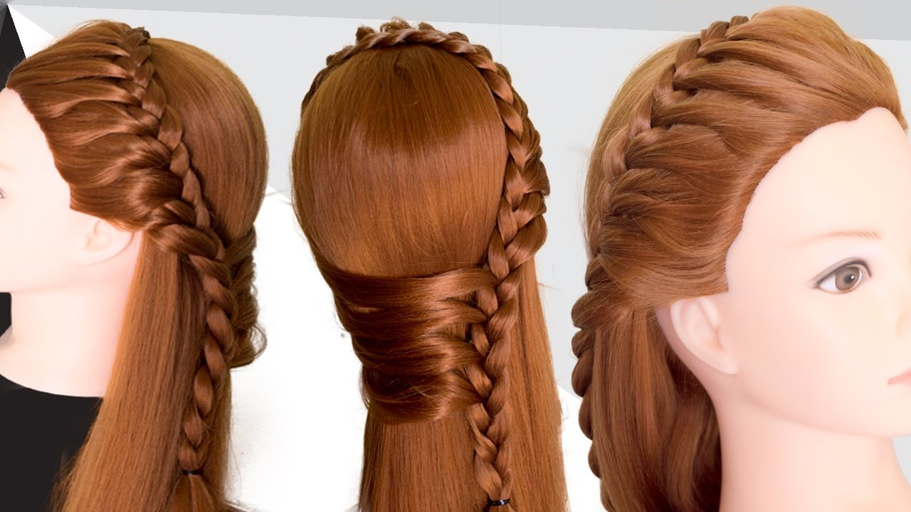Hairstyles for party for girls