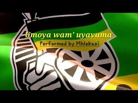 ANC SONGS UMOYA WAM UYAVUMA (ANC VERSION)