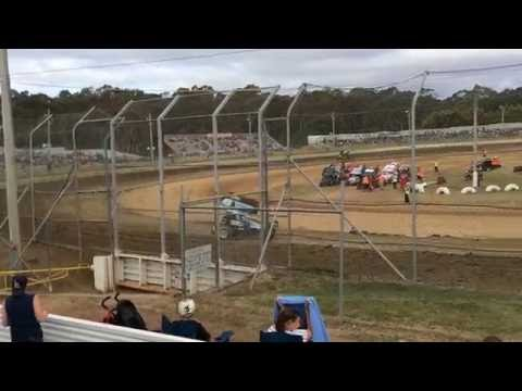 Sprintcars Hotlaps Group 3 Latrobe Speedway 5/12/15