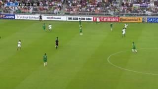 بالفيديو: الأخضر السعودي بجدارة .. هزم العراق واعتلى الصداره