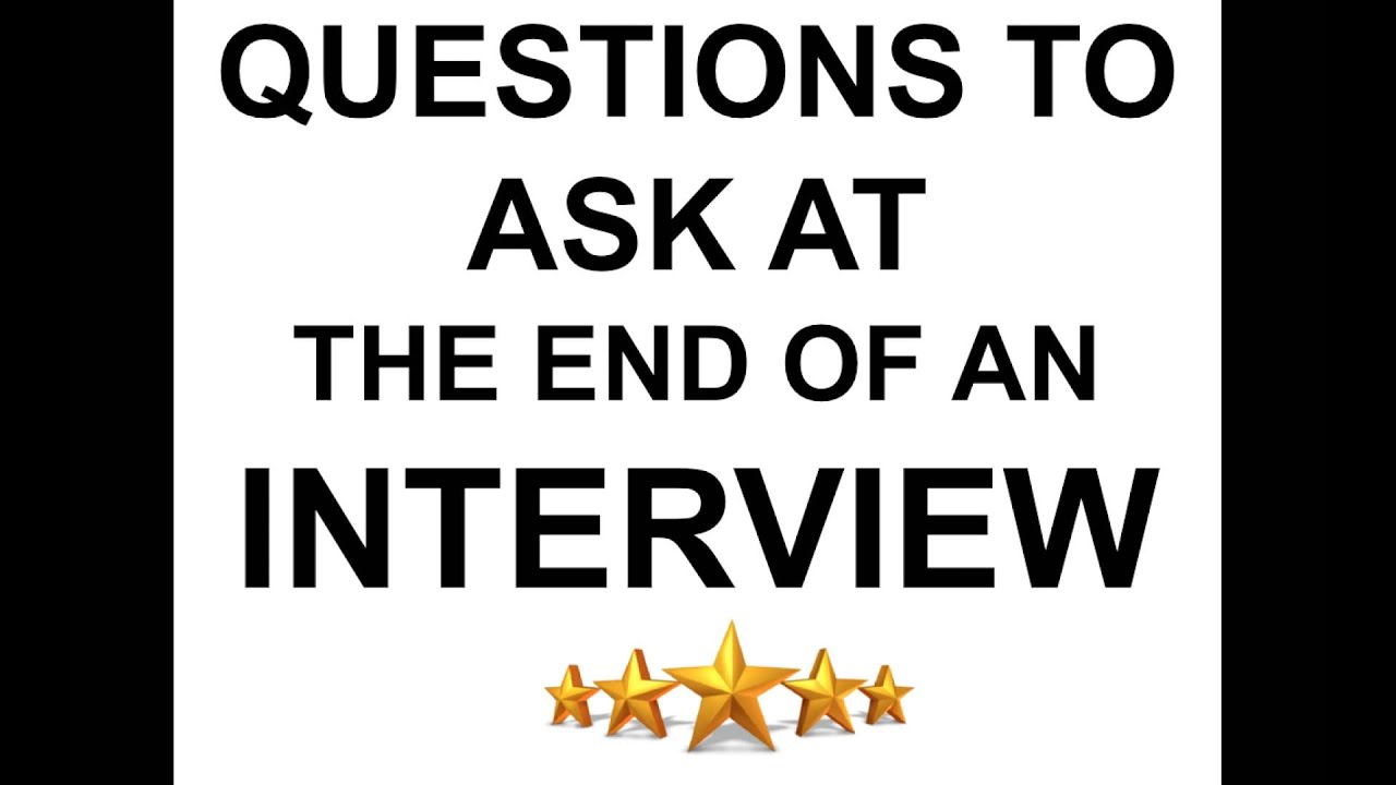 top questions to ask interview