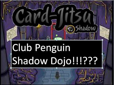 Club Penguin Shadow Dojo!?