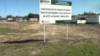 EMPRENDEDORES TELEVISA    INICIO DE PARQUE DE BARRIO  EN SOTO LA MARINA