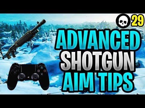 ADVANCED Controller Fortnite Shotgun Aim Tutorial! (PS4/Xbox Fortnite Shotgun Tips) thumbnail