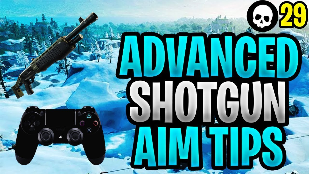 Fortgeschrittener Controller Fortnite Shotgun Aim Tutorial! (PS4 / Xbox Fortnite Shotgun-Tipps) + video