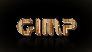 How to make a wood text effect in Gimp 2.8.14 (Requested)