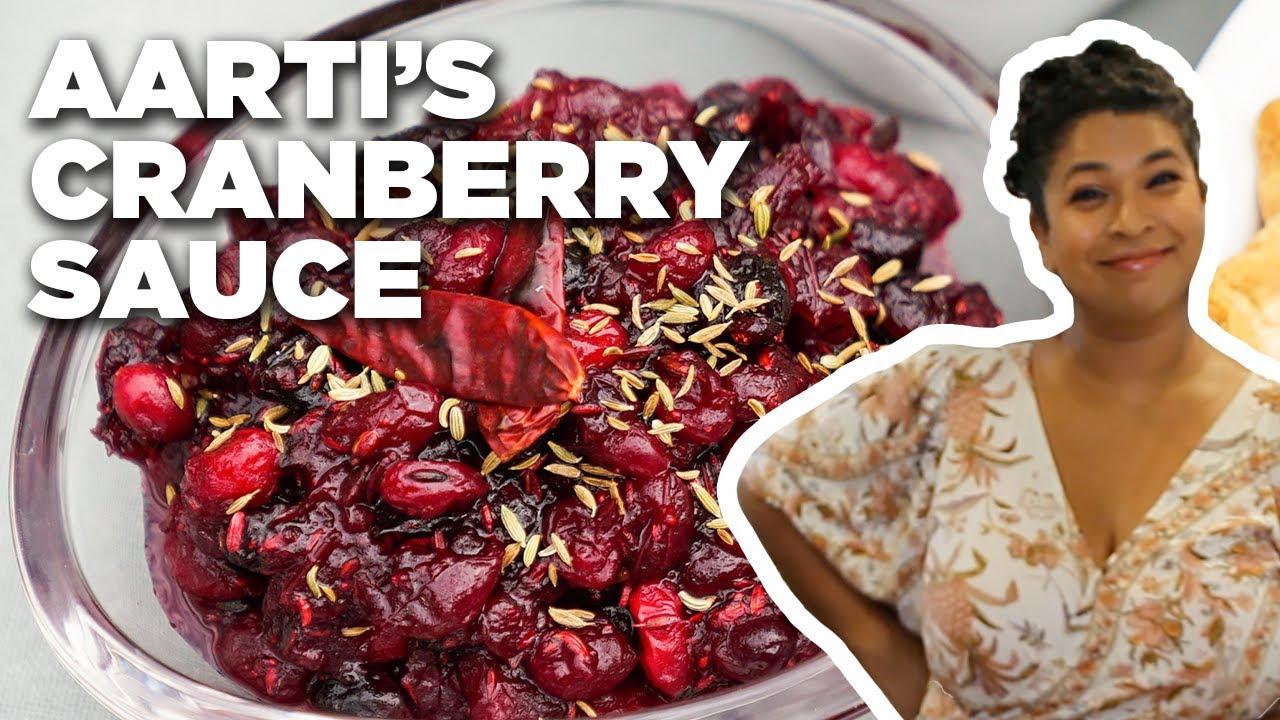 Aarti Sequeira Recipes Food Tv aarti sequeira's last-minute cranberry sauce | food network